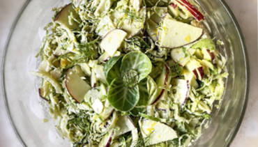 Fennel Brussel Salad